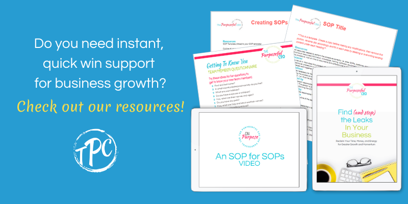 Check out our resources!