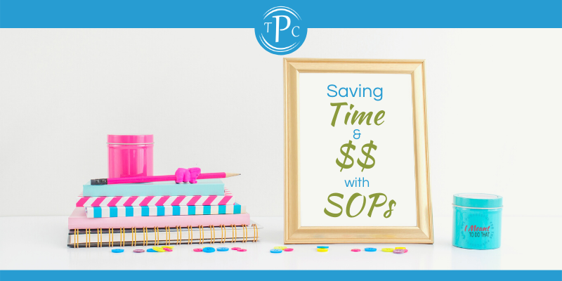 Saving $$ with SOPs