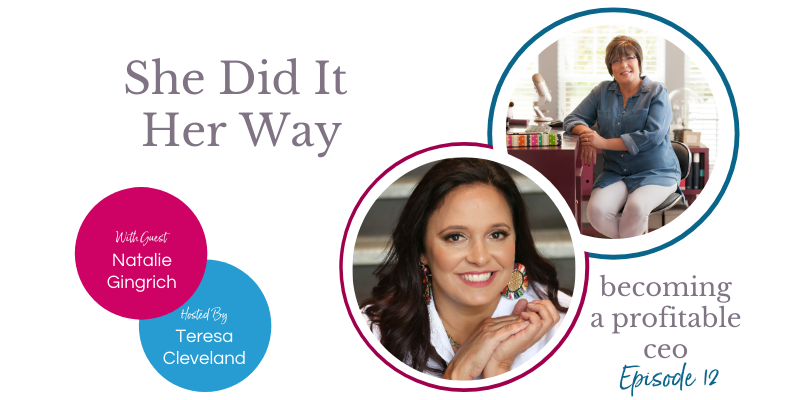 Natalie Gingrich She Did It Her Way Ep12